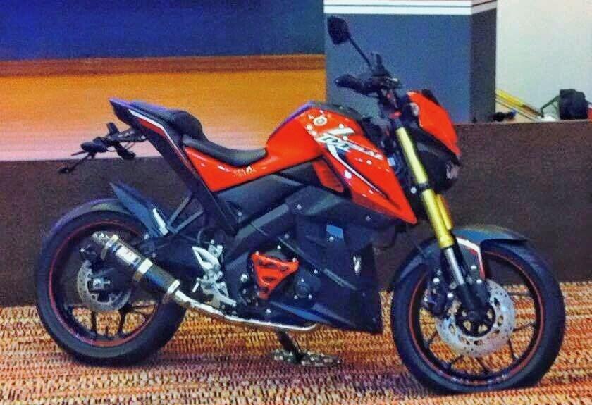 Mẫu Nake bike mới của Yamaha lộ diện trước ngày ra mắt