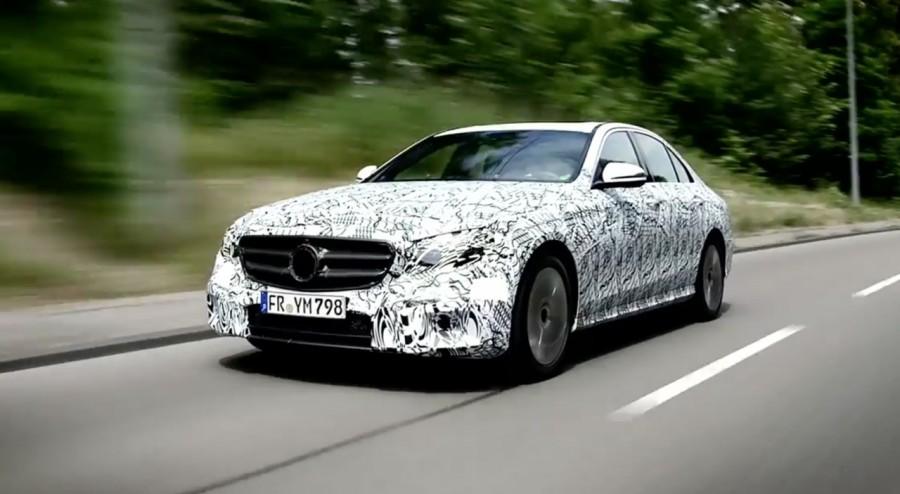 Phát hiện Mercedes E Class và E Class LWB 2016 chạy thử nghiệm