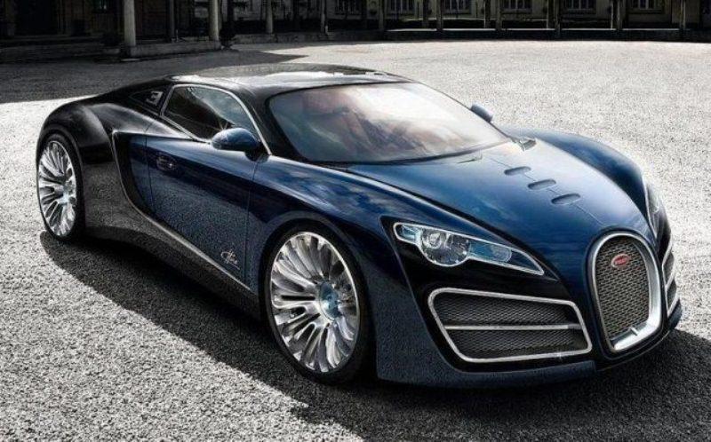 Siêu xe Bugatti Chiron 2016 ra mắt vào năm sau