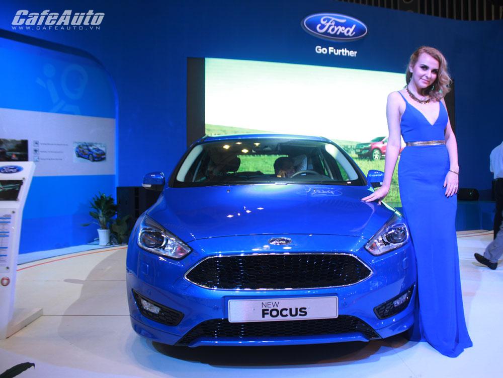 Ford Việt Nam xuất xưởng Focus mới