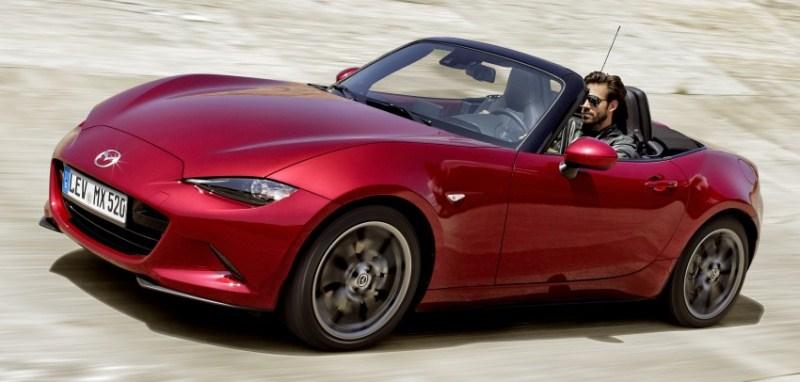 Mẫu xe Nhật Bản của năm thuộc về Mazda MX-5 mới