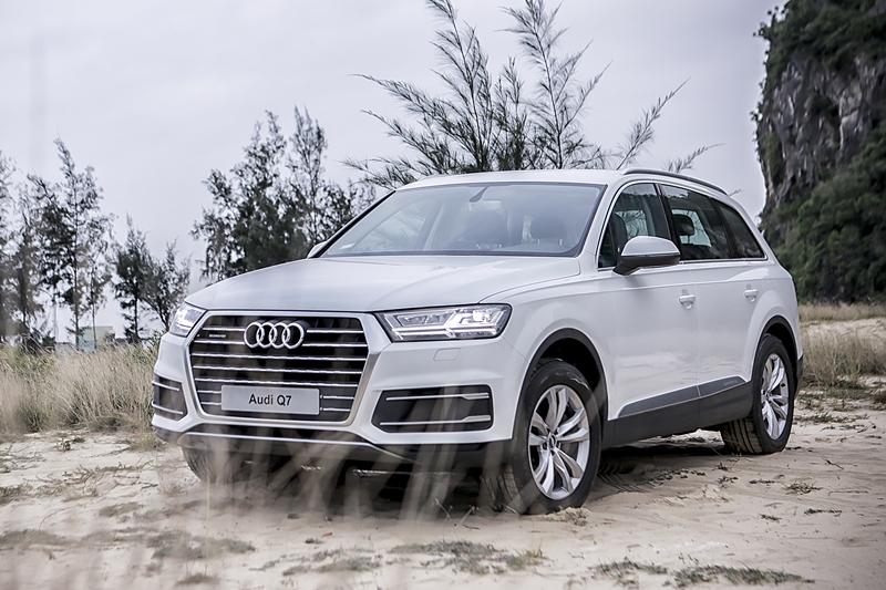 Audi Q7 2.0 TFSI quattro ra mắt tại Việt Nam, giá từ 3 tỷ đồng