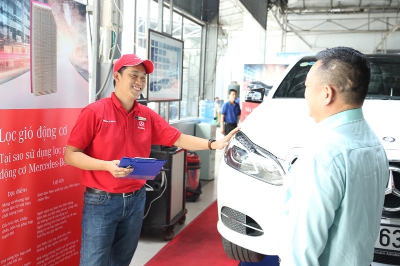 Mercedes-Benz Việt Nam giới thiệu chương trình dịch vụ hậu mãi và bảo hành mới