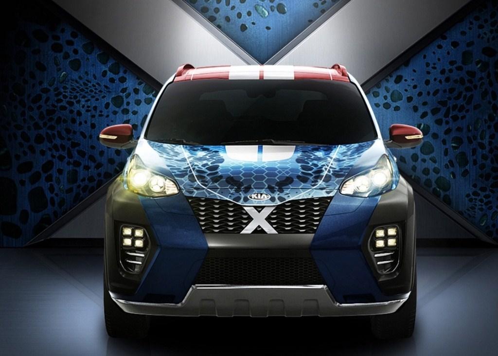 Bỏ Star Wars, Kia Sportage 2017 mang hình dáng của X-Men