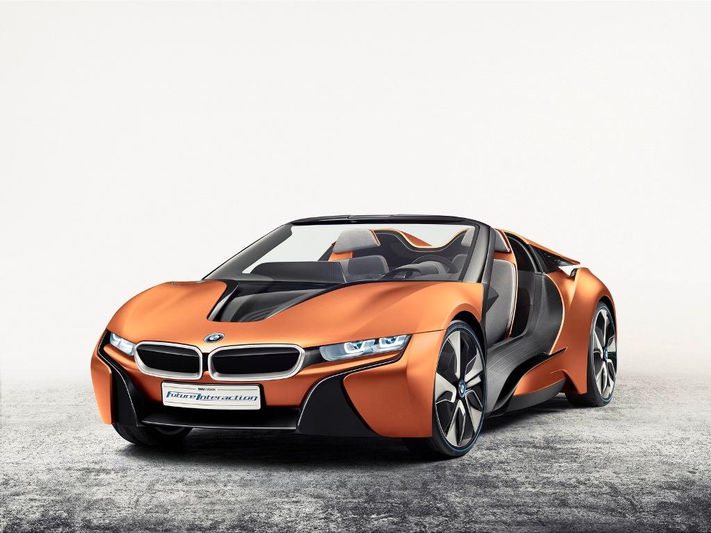 """BMW i8 spyder concept lột xác thành """"xế độc"""""""