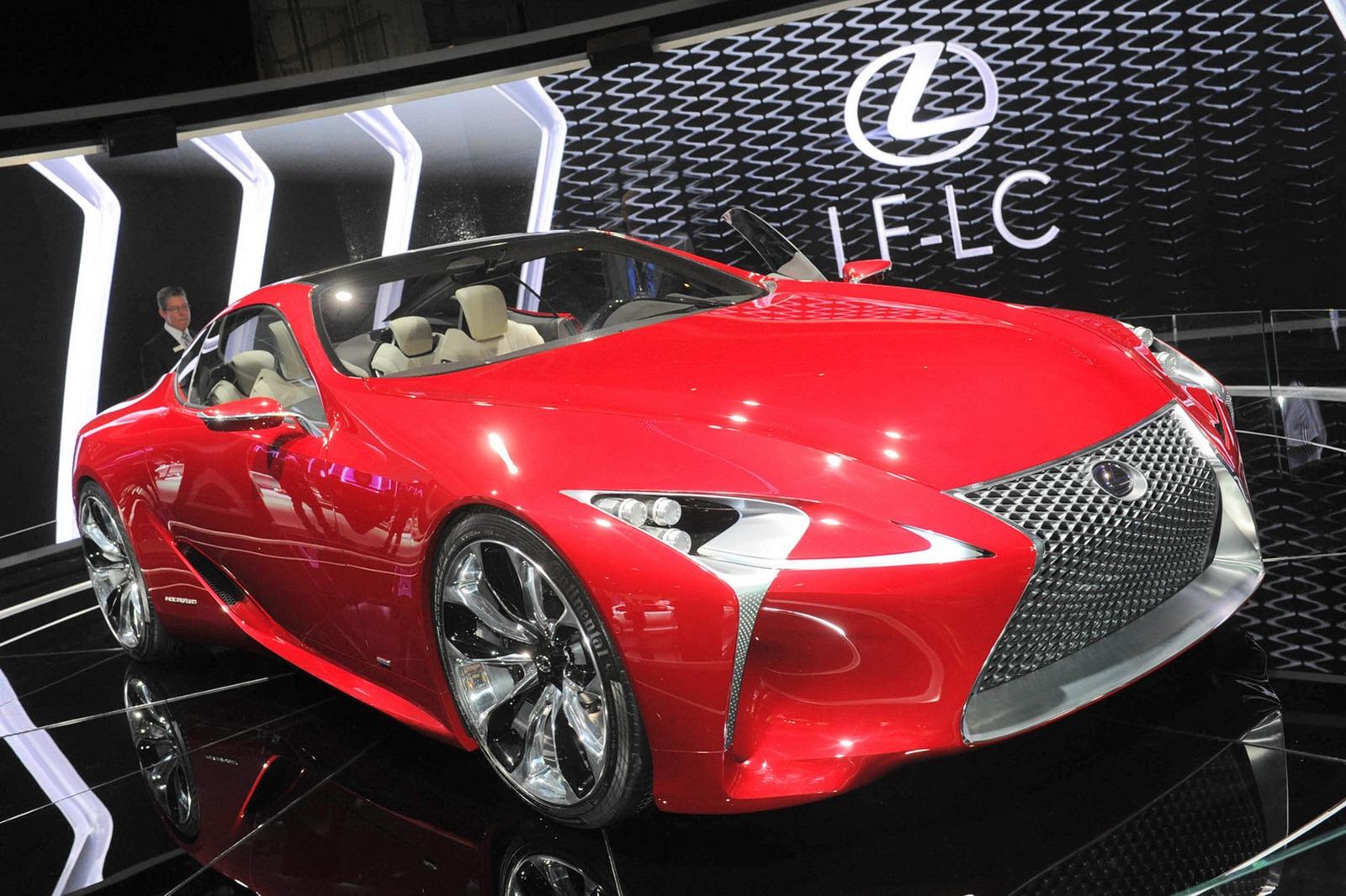 Lexus xác nhận ra mắt xe hoàn toàn mới tại Detroit Auto Show