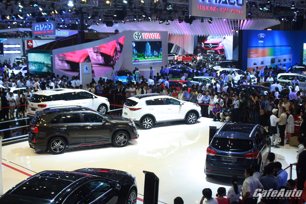 2015: Năm bùng nổ của ngành ô tô