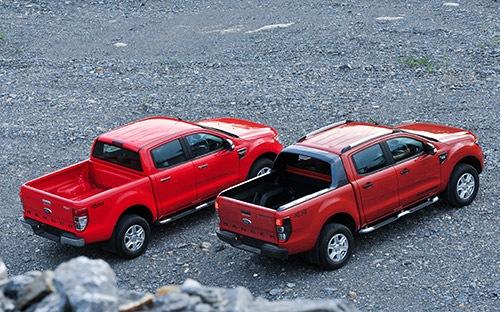 Các mẫu bán tải cũ chất lượng đời 2012 tầm giá 500 triệu đồng