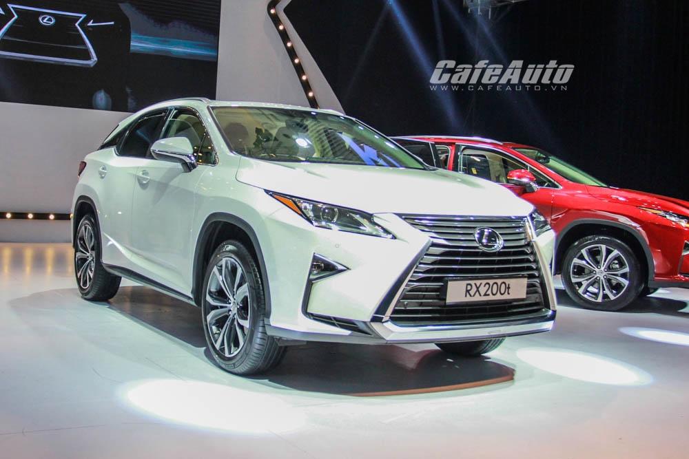Hình ảnh chi tiết Lexus RX200t 2016 có giá 3,06 tỷ đồng tại Việt Nam