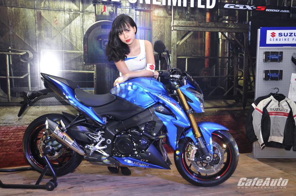 Ra mắt tại Việt Nam Suzuki GSX-S1000 chính thức tuyên chiến với Kawasaki Z1000