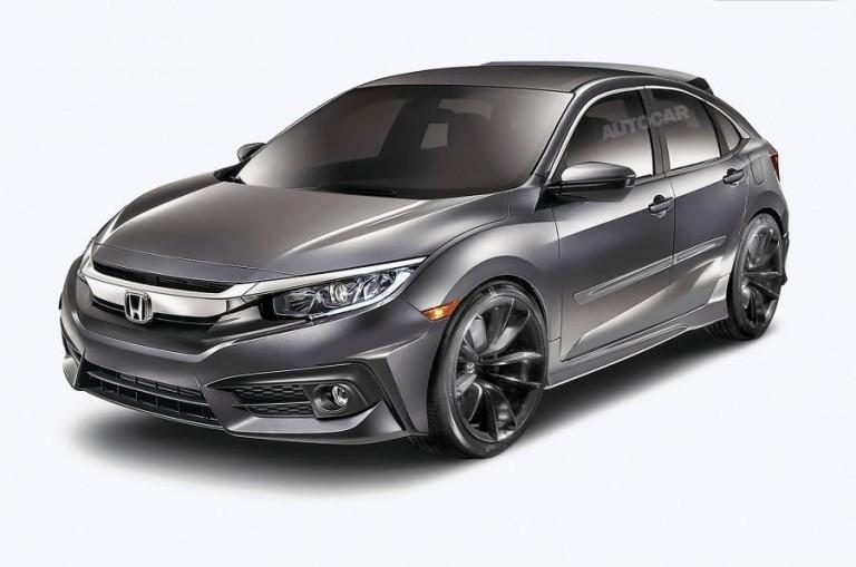 Honda Civic 2016 có thêm phiên bản hatchback