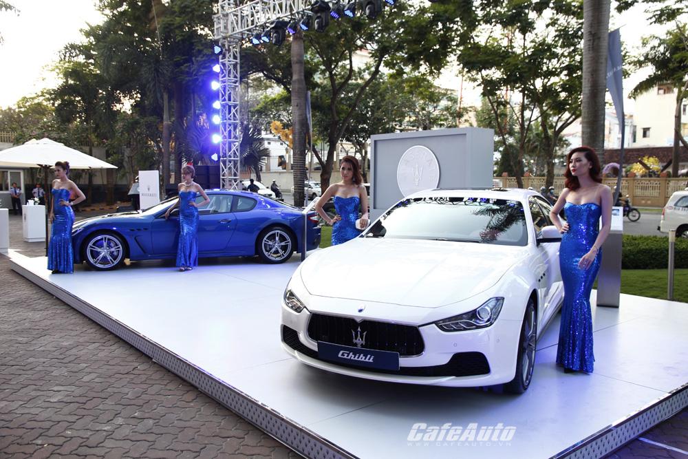 Maserati khai trương showroom chính hãng đầu tiên tại Việt Nam