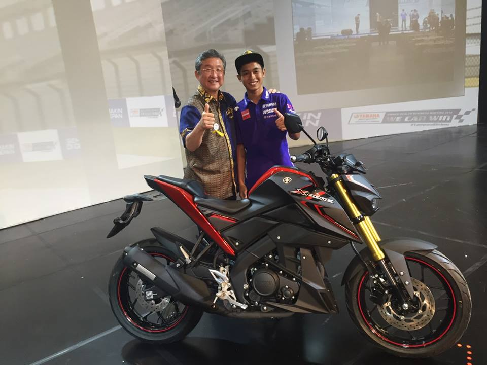 Ra mắt Xabre 150, côn tay mới của Yamaha giá 50 triệu đồng