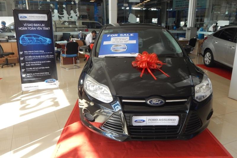 """Ford Việt Nam giới thiệu chương trình """"Xe Ford Đã Qua Sử Dụng Chính Hãng"""