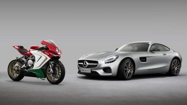 Siêu mô tô MV Agusta sắp được bày bán tại showroom của Mercedes-Benz