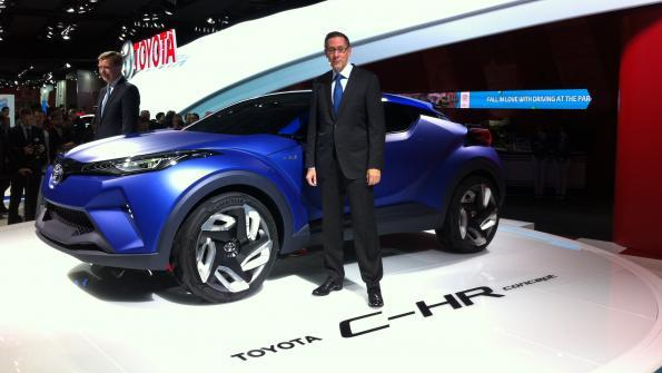Toyota chuẩn bị chào bán mẫu crossover C-HR