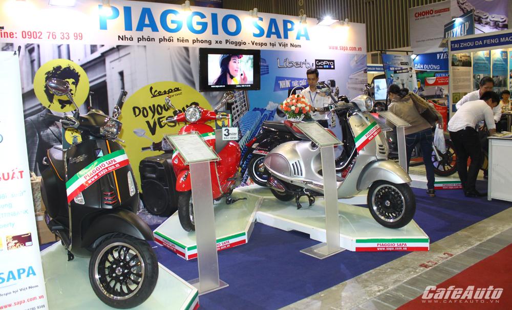 8 hãng xe sẽ quy tụ tại triển lãm Mô tô, Xe máy Việt Nam 2016