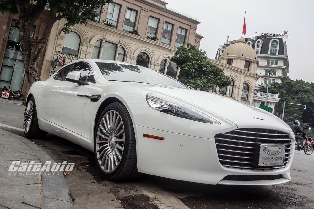 Aston Martin Rapide S tuyệt đẹp trên phố Hà Nội