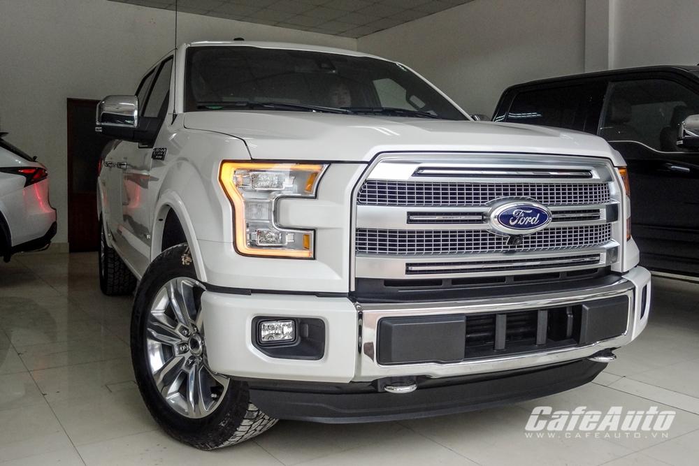 Chi tiết mẫu bán tải cỡ lớn Ford F-150 Platinum có giá 3,11 tỷ đồng tại Việt Nam