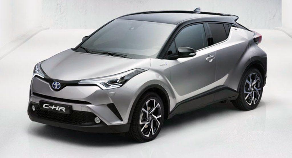 "Lộ ảnh ""tân binh"" Toyota C-HR 2017, đối thủ của Mazda CX-3, Nissan Juke"