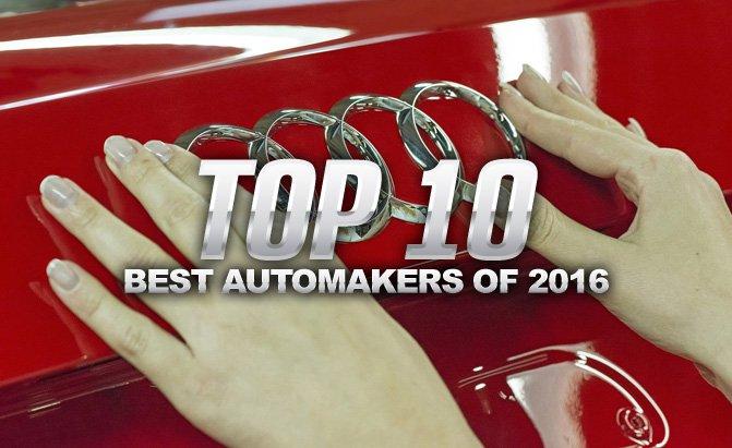 Top 10 hãng xe tốt nhất năm 2016