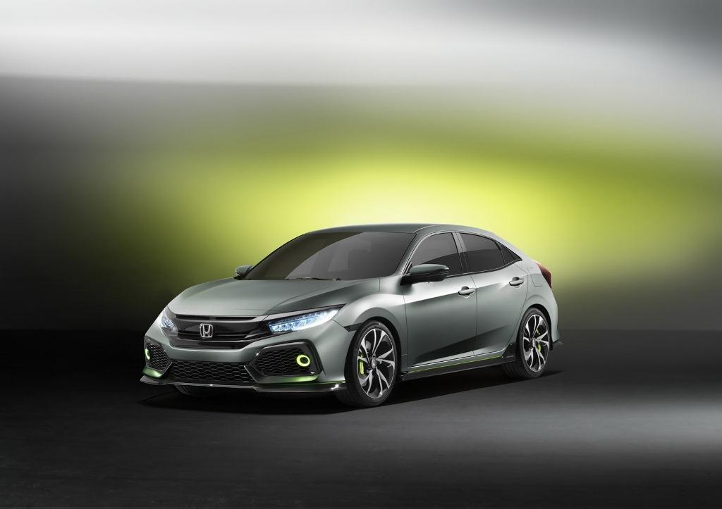 Lạ mắt với Honda Civic hatchback thế hệ mới
