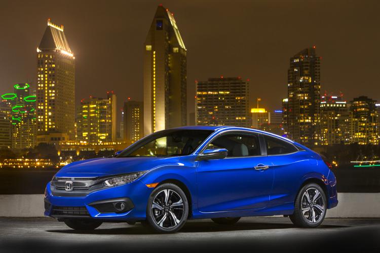 Honda công bố giá bán Civic Coupe 2016