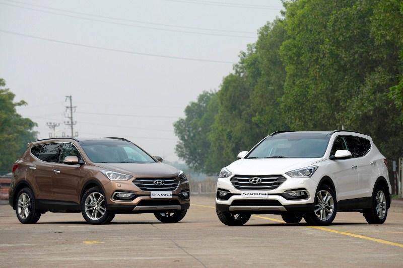 Hyundai Santafe 2016 chính thức ra mắt tại Việt Nam