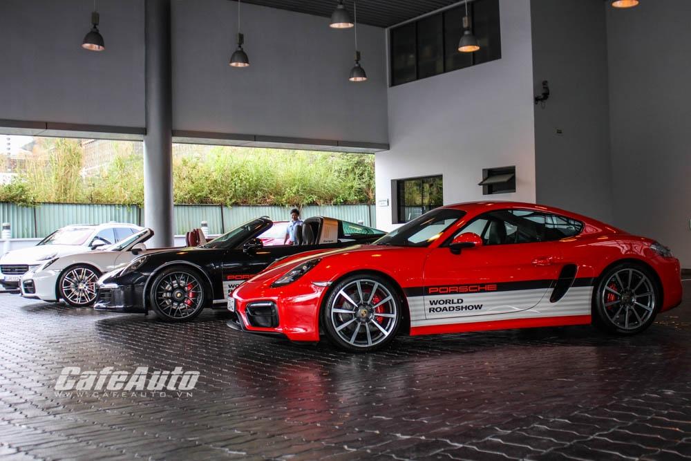 Trải nghiệm 22 mẫu xe hiệu suất cao tại Porsche World Roadshow 2016