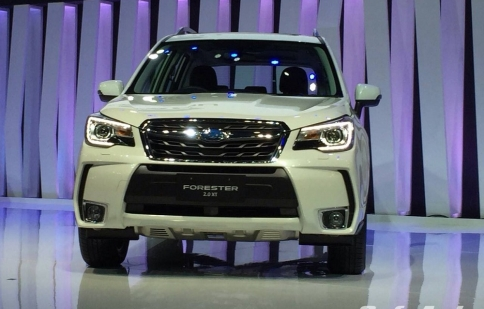 Chi tiết Subaru Forester 2016 sắp về Việt Nam