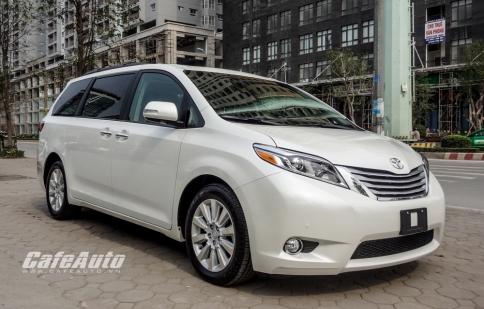 Chi tiết Toyota Sienna 3.5 Limited 2016 tại Việt Nam