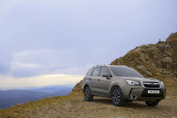 Subaru Forester 2016 sẽ về Việt Nam vào cuối tháng 4