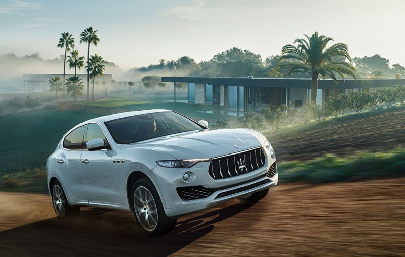 SUV hoàn toàn mới Maserati Levante 2017 giá từ 72.000 USD