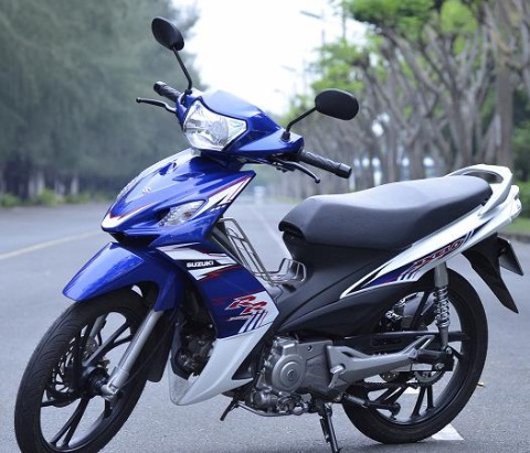 Suzuki Axelo 125 – côn tay rẻ nhất thị trường Việt