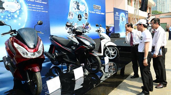 Thị trường xe máy Việt chưa bão hòa