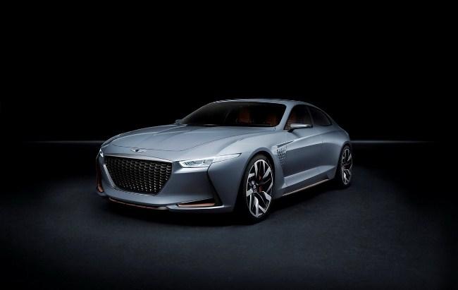 5 điều cần biết về bản concept mới của Genesis cạnh tranh với Mercedes C-Class