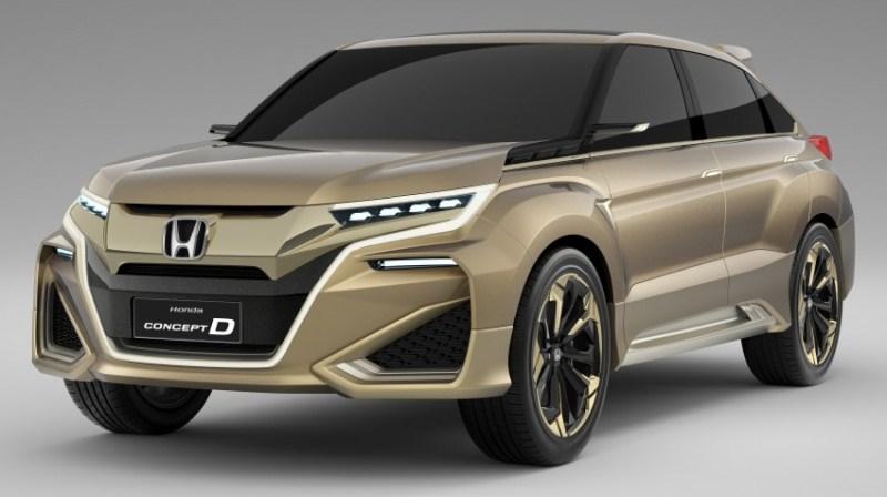 Honda UR-V, tân binh mới của dòng xe đô thị