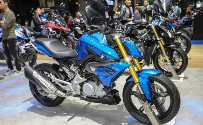 Ngắm mẫu naked bike BMW G310R mới tại Thái Lan