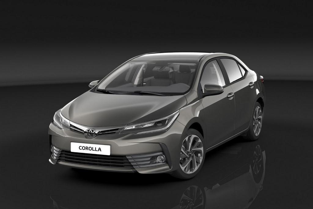 Toyota Corolla 2017: Thay áo mới, thêm tính năng an toàn