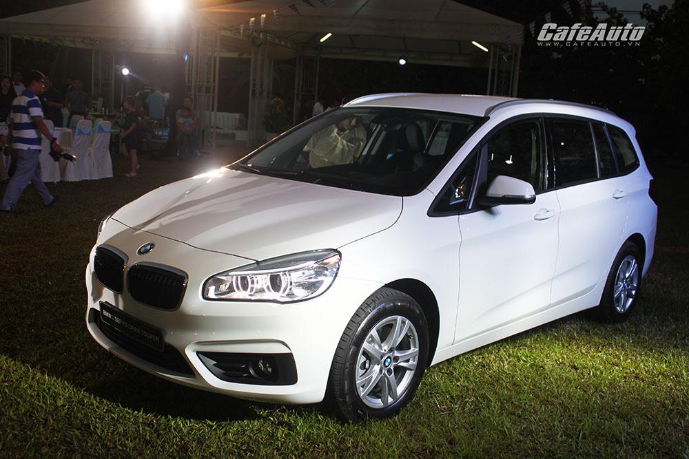 """BMW 218i Gran Tourer, xe gia đình giá 1,498 tỷ đồng """"chào"""" thị trường Việt"""