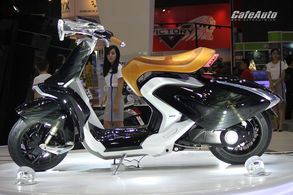 """Chiêm ngưỡng """"bộ ba"""" concept độc đáo của Yamaha tại VMCS 2016"""