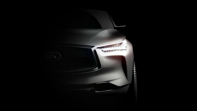 Infiniti hé lộ hình ảnh xe mới sắp ra mắt