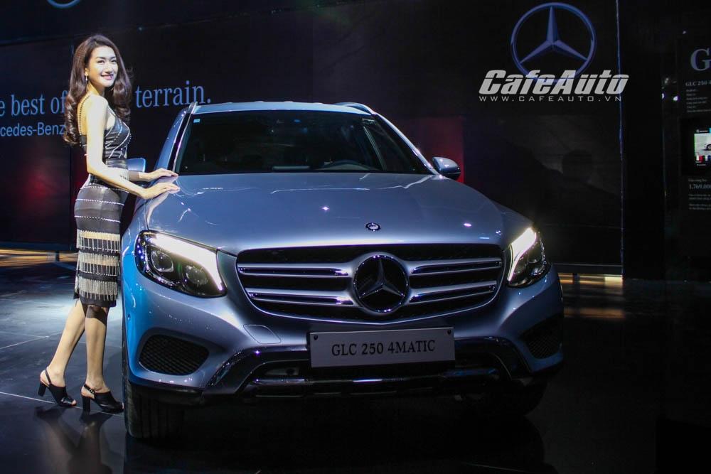 Mercedes-Benz GLC 2016 chính thức ra mắt tại Việt Nam, giá từ 1,769 tỷ đồng