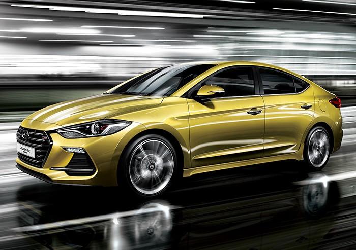 Hình ảnh chính thức Hyundai Elantra Sport 2017 mạnh hơn 200 mã lực