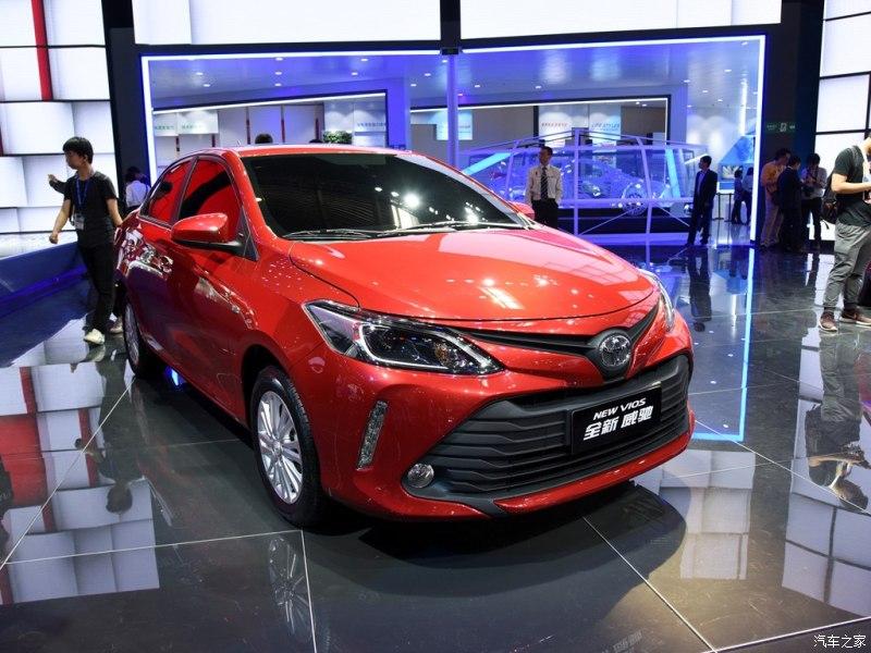 Toyota Vios 2016 ra mắt tại Trung Quốc