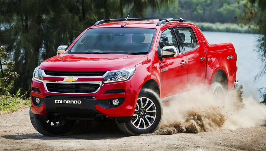 Chevrolet Colorado 2017 phiên bản Đông Nam Á chính thức ra mắt