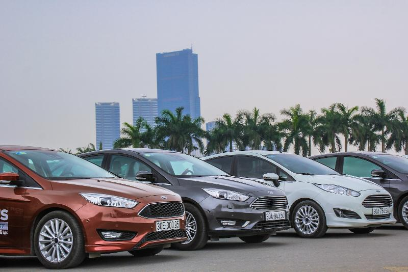 Ford khởi động chương trình lái thử và bảo dưỡng trên toàn quốc