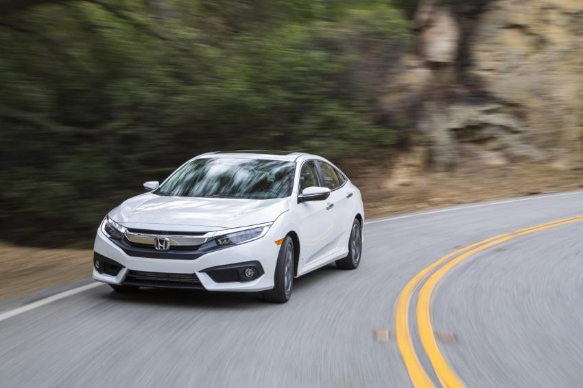 Honda Malaysia tiết lộ thông số Civic 1.5 tăng áp