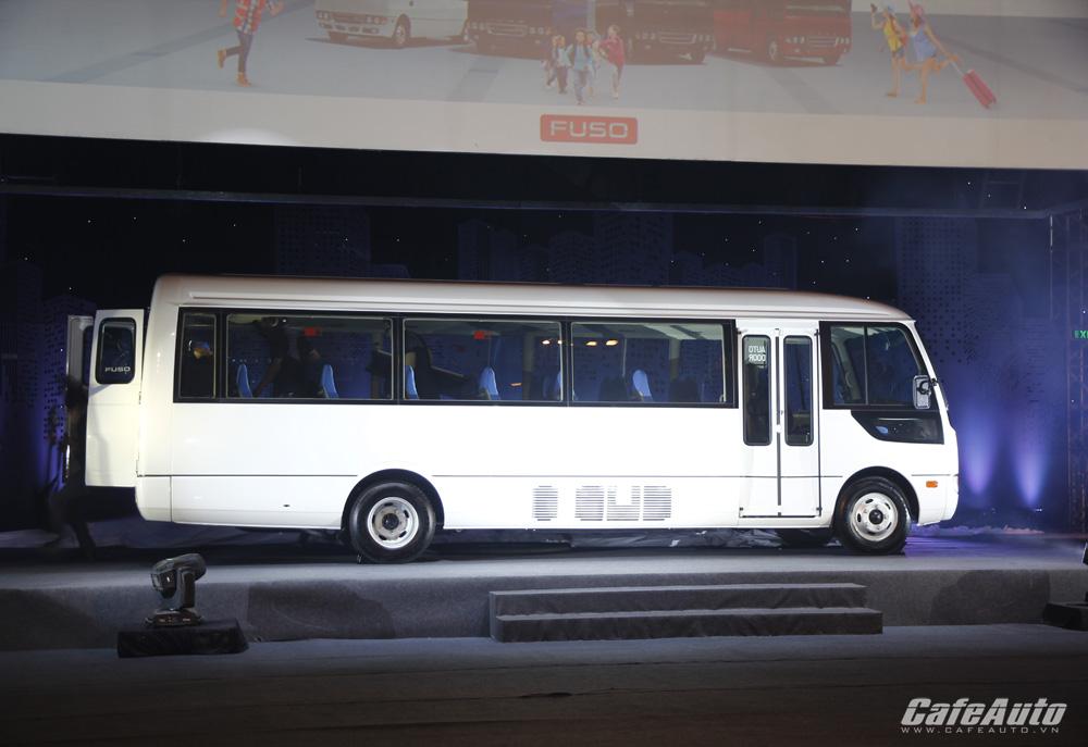 Fuso trình làng dòng xe buýt cao cấp tại Việt Nam