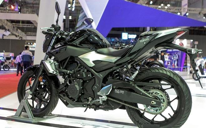 Yamaha MT-03 có giá bán 160 triệu đồng tại châu Âu